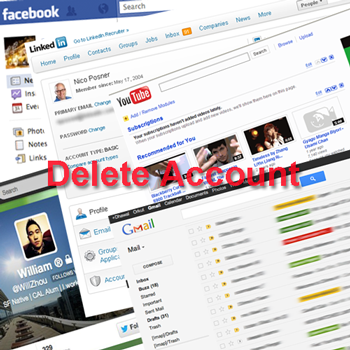 How to delete gmail facebook twitter google youtube or linkedin how to delete gmail facebook twitter google youtube or linkedin account ccuart Images
