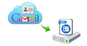 Gmail Contacts To VCF